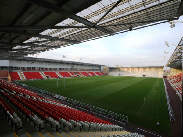 Leigh Sports Village Stadium (Leigh, Greater Manchester)