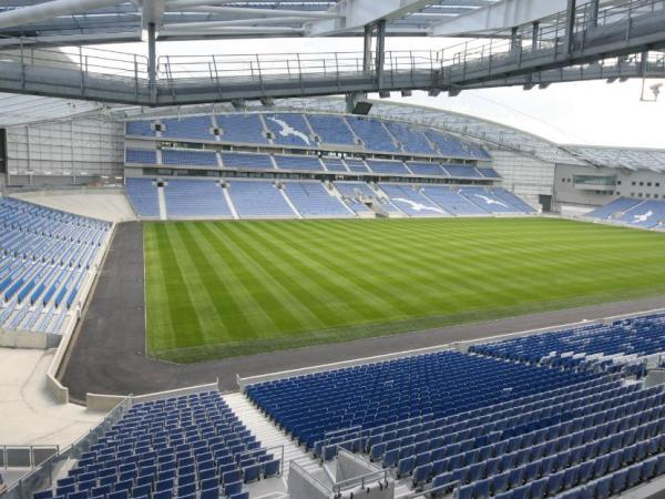 The American Express Community Stadium (Falmer, East Sussex)