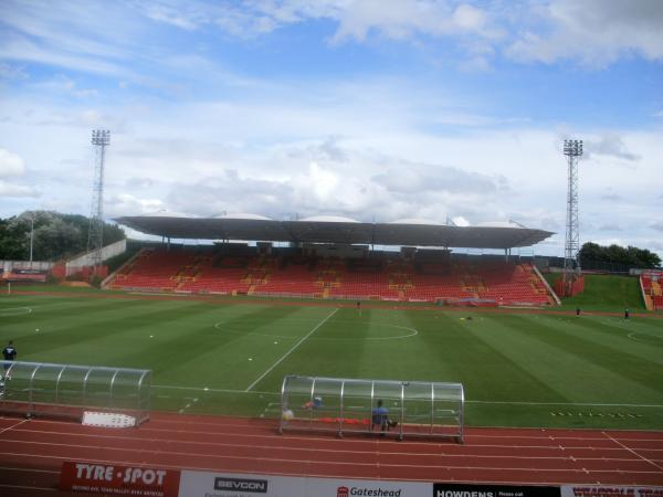 Gateshead International Stadium (Gateshead, Tyne and Wear)