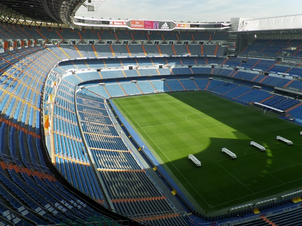 Estadio Santiago Bernabéu (Madrid)