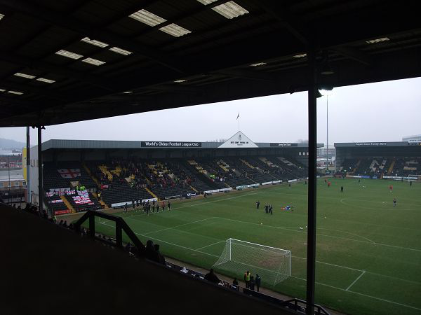 Meadow Lane Stadium (Nottingham, Nottinghamshire)